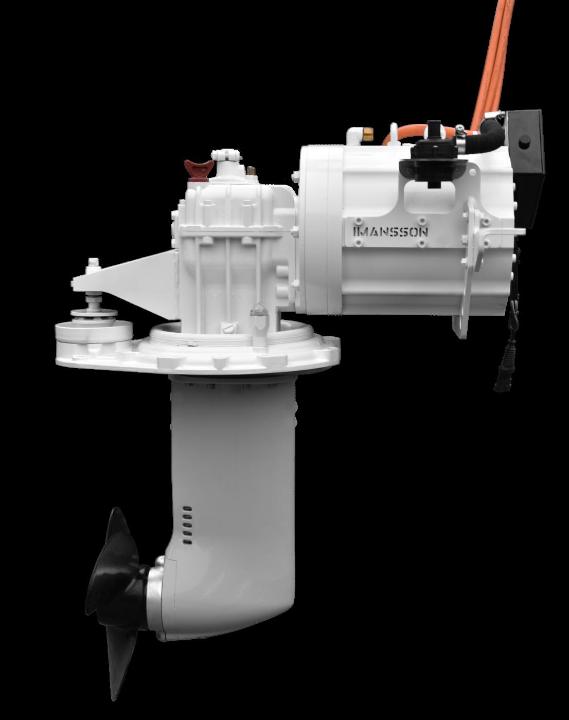 Website afbeelding, Imansson Elektromotor Marine, 19 kW 48 Volt (1) zijaanzicht