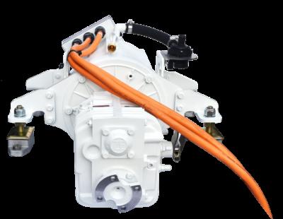 Website afbeelding, Imansson Elektromotor Marine, 19 kW 48 Volt, vooraanzicht (keerkoppeling)